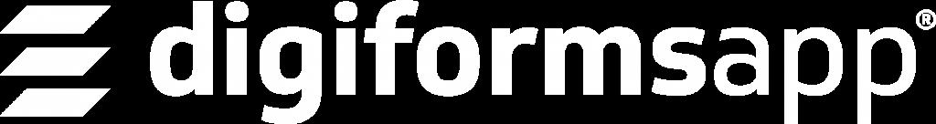 Logo DigiformsApp blanco horizontal