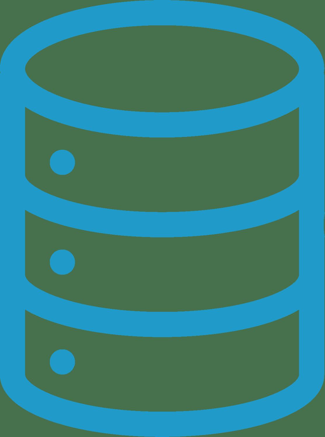 Características integración base de datos